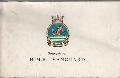 SOUVENIR OF H.M.S. VANGUARD 1948 1st Ed Book