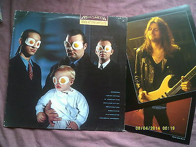 "Helloween-Kids Of The Century 12"" Single + 5 Band Prints"