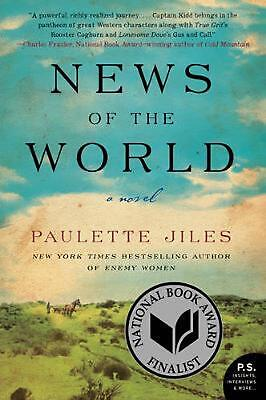 News of the World: A Novel by Paulette Jiles Paperback Book