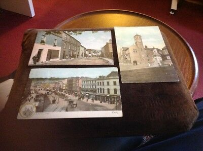 Vintage Set Of 3 Postcards Of Co, Cork Ireland