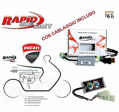 Centralina Moto Rapid Bike Easy Con Cablaggio Ducati Monster 796 Anno 2011