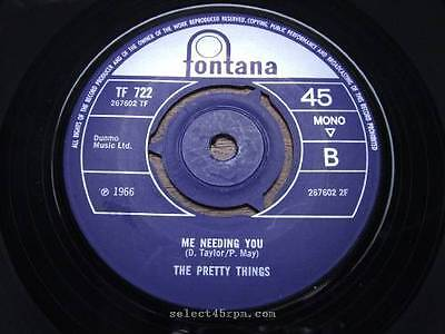 PRETTY THINGS = A House In The Country = MINT = FONTANA TF 722 = Mod Beat Dancer