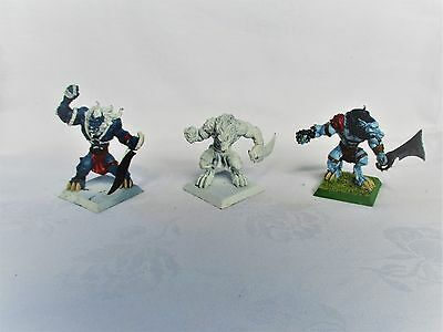 Rackham Confrontation 3 X Wolfen Predators Of Blood (Cards Included)