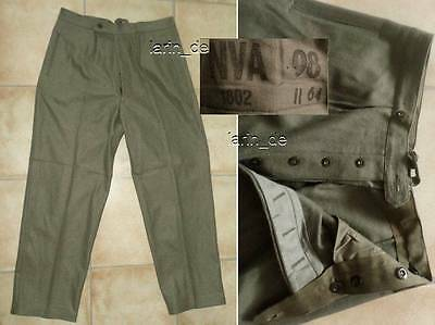 frühe DDR NVA 1964 Deutsche Armee - Uniform- Hose East german army trouser GDR