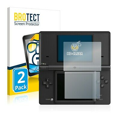 2x BROTECT Screen Protector for Nintendo DSi Protection Film
