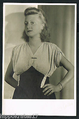 FOTO vintage PHOTO, snapshot Mode Dame Frau fashion woman lady femme (81) *