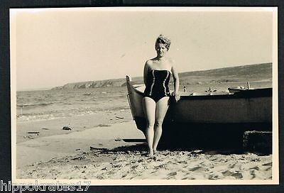 FOTO PHOTO Badeanzug Strand Frau beach lady woman swimsuit maillott de bain (36)