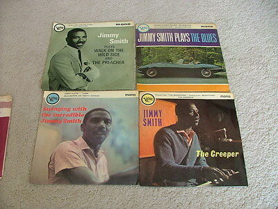"""Jimmy Smith - 4 X Uk 7"""" Picture Sleeve Mono Singles - Vg - Sale Price"""