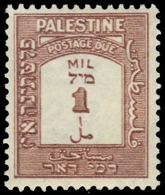 """PALESTINE J12 (SG D12) - Numeral of Value """"Postage Due"""" (pa81212) NH"""