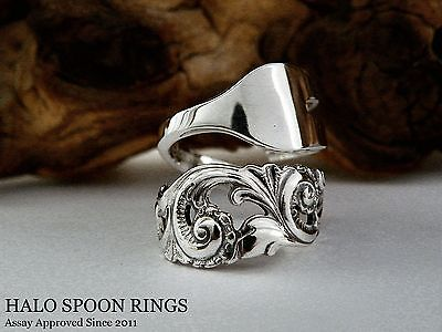 Stunning & Chunky Ladies Norwegian Silver Pickle Fork Ring Only One Available!!