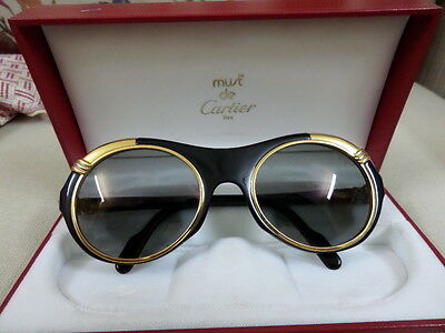 VINTAGE CARTIER Diabolo sunglasses very rare brand new never used with papers