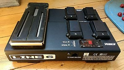 Line 6 FBV Express Foot Controller - Wah Tuner Guitar FX Effects Pedal