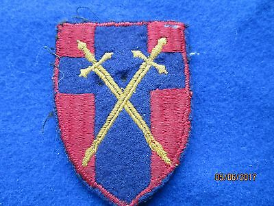 HQ 21st Army Group Cloth arm Badge Taken from a Uniform