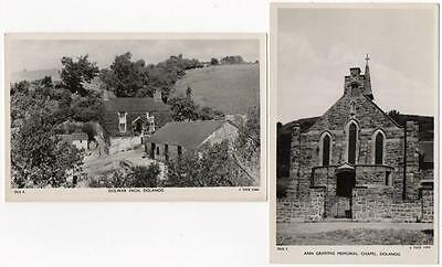 2 Early Ann Griffiths DOLANOG and Chapel  Montgomeryshire  Photo Postcards