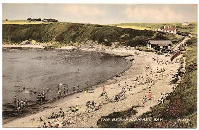 1959's CEMAES BAY Beach Anglesey  Postcard