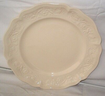 "A Royal Cream ware Classics Large 11.25"" Platter"