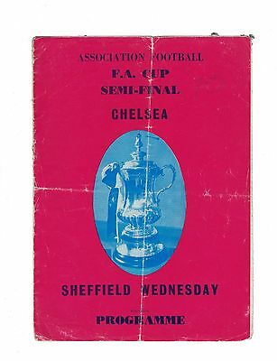 CHELSEA v SHEFFIELD WEDNESDAY FAC SEMI FINAL 1966 @VILLA PARK (PIRATE EDITION)