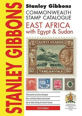 STANLEY GIBBONS COMMONWEALTH STAMP CATALOGUE - EAST AFRICA, EGYPT & SUDAN 3rd Ed