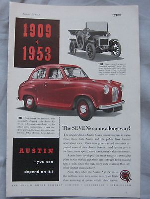 1953 Austin Original advert No.3