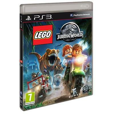 LEGO Jurassic World Game for Sony PlayStation 3 PS3 Kids 7 Plus NEW SEALED