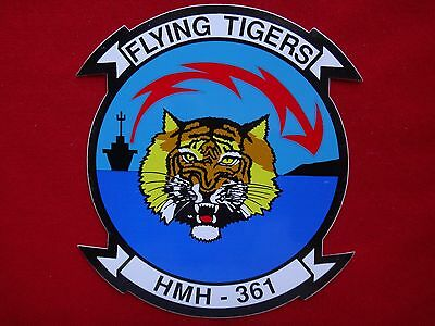 USMC Marine Heavy Helicopter Squadron HMH-361 FLYING TIGERS Decal Sticker