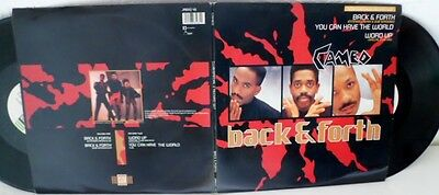 "Cameo -Double 12"" Set-Word Up Back And Forth You Can Have The World1987/mint-"