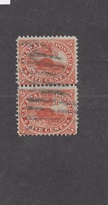 CANADA # 15 PAIR OF 5cts BEAVERS LIGHTLY USED