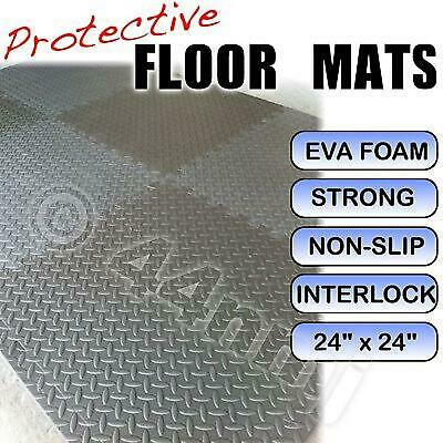 Garage / Workshop Flooring Mats Tiles Anti Fatigue Matting GREY & DK GREY
