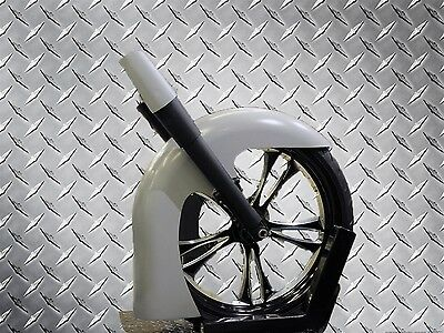 "23"" Flared Front Fender Classic Hot Rod Style Harley Davidson Touring Motorcycle"