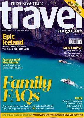 The Sunday Times Travel Magazine July 2017 (Iceland, Hong Kong, La To S.fran)New