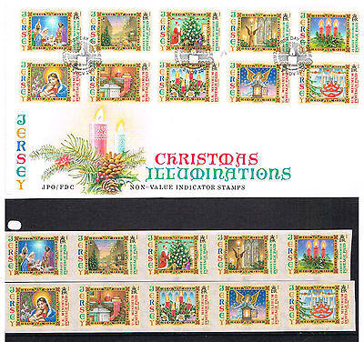 Jersey Non-Value Indicator FDC & Stamps
