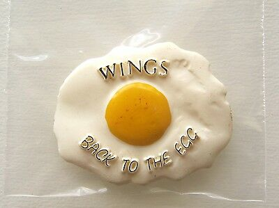 Rare Vintage Paul Mccartney Wings Back To The Egg Record Promo Pin Badge Button