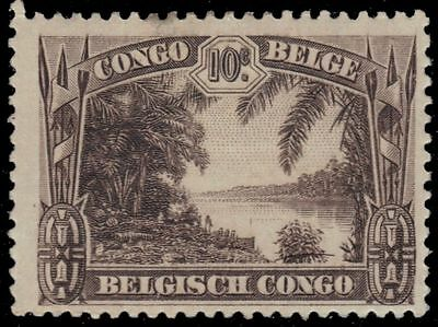 BELGIAN CONGO 139 (Mi130) - View of Sankuru River (pa87459)