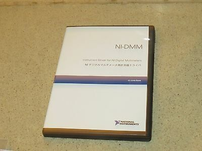 National Instruments Ni Ni-Dmm Instrument Driver Cds- Version 2.9