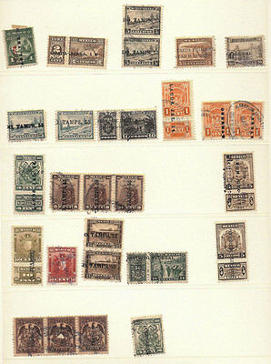 Mexico Revenue Collection #59 1928-1929 TABS