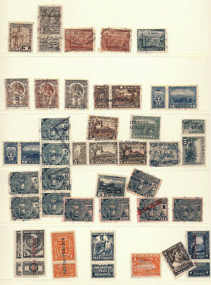Mexico Revenue Collection #60 1930-1932 TABS Publica overprints