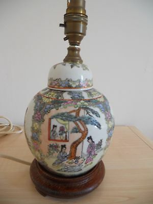 Old Oriental Ginger jar style lamp.