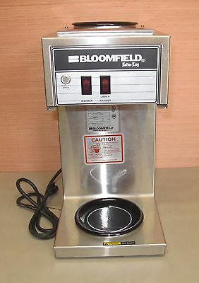 Bloomfield 8543 Koffee King 2 Burner Pour Over Coffee Maker Stainless Commercial