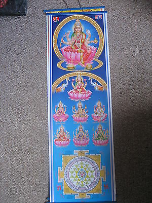 Wall Hanging Of Hind  Goddess  Lakshmi