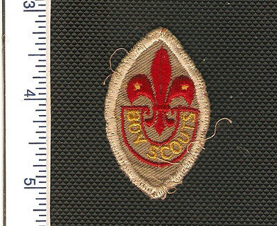 a Vintage Scouts Canada badge from the 1960's in very good used condition.