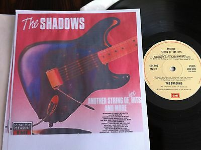 Lp  -    The Shadows   -   Another Strings Of Hot Hits  -  U.k.