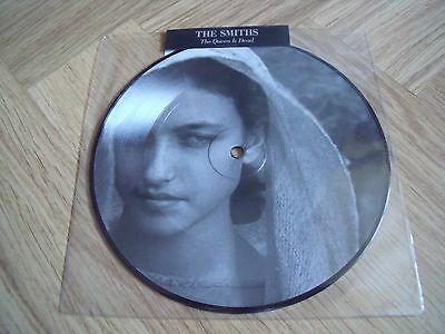 "The Smiths/Morrissey The Queen Is Dead Rare 7"" Picture Disc."