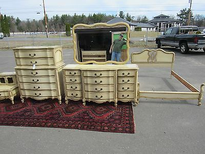 Fancy French provincial bedroom set