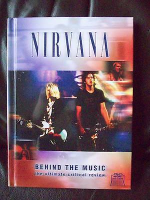Nirvana DVD and book set Behind the music New/sealed