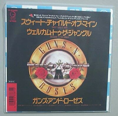 "Guns N Roses Sweet Child O Mine 7"" P/s Japanese"