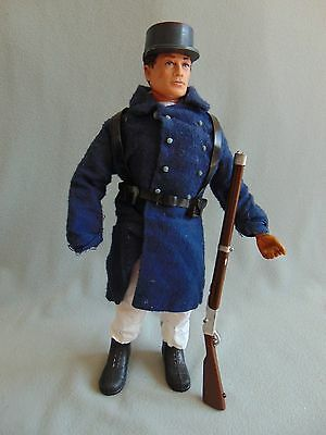 Vintage Action Man - FRENCH FOREIGN LEGION UNIFORM - + EAGLE EYES FIGURE