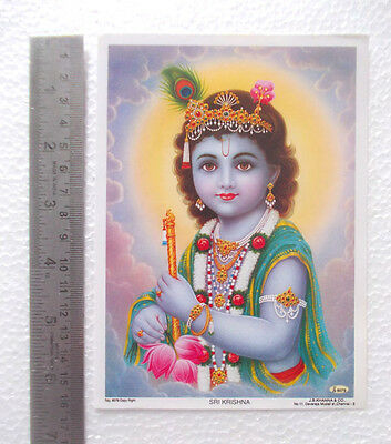 "Lord Krishna - Normal Paper POSTER (5""x7"")"