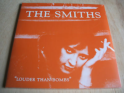 THE SMITHS LOUDER THAN BOMBS  180 gram  double Vinyl  LP  mint sealed