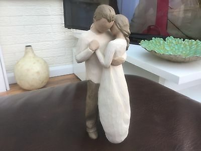 """Willow tree promise figurine 9"""" tall"""