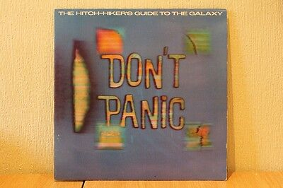 The Hitch-Hiker's Guide To The Galaxy - Don't Panic 1979 Original Records Lp Ex+